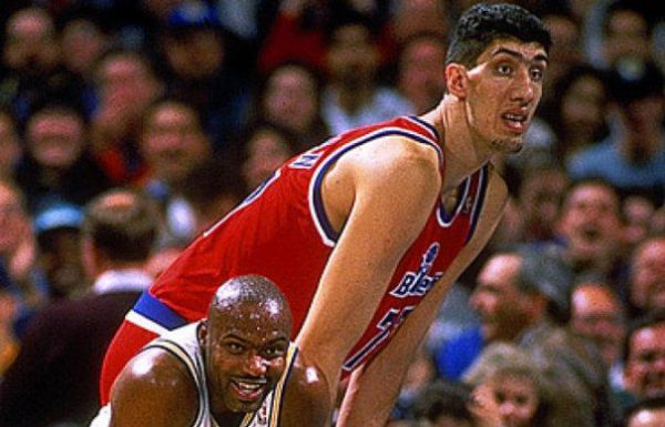 Gheorghe Mureșan Tallest Players in NBA