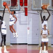 Manute Bol Tallest Players in NBA