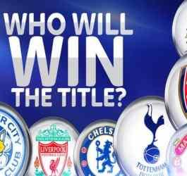 The Premier League Title Race, Who Does the Odds Favor
