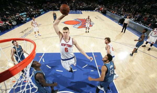 Kristaps Porziņģis tallest NBA players