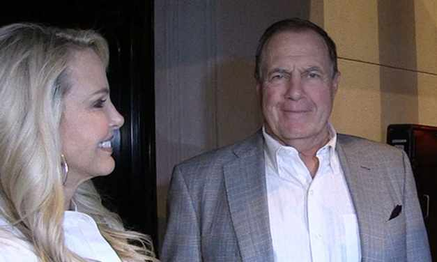 Bill Belichick Not Feeling Paparazzi During Date Night At Craig's