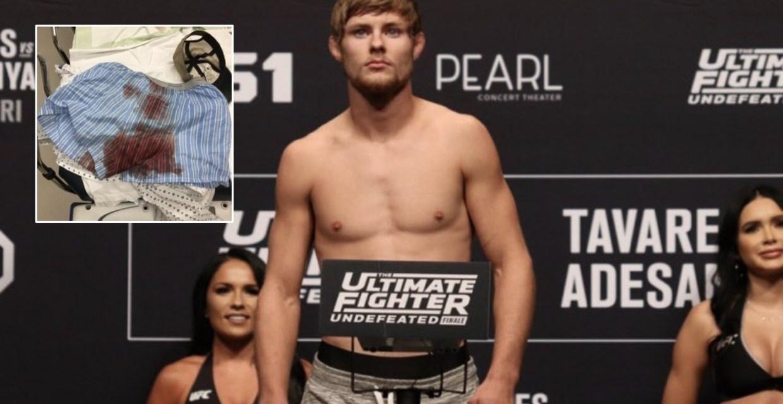 UFC Prospect Bryce Mitchell Recalls Power Drill Scrotum Injury