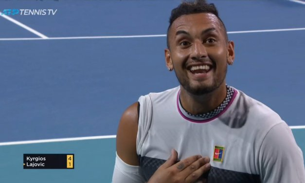 Nick Kyrgios Got a Fan Kicked out at the Australian Open