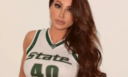 Holly Sonders Shows Support for Michigan State as Only She Can