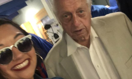 Tommy Lasorda Made an Appearance at Dodgers Stadium on Opening Day