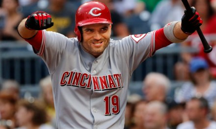 Joey Votto Addressed Haters with a Custom T-Shirt