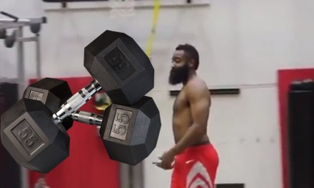 James Harden Got in a Workout After Dropping 61