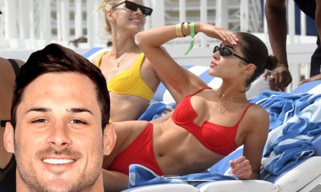 SI Swimsuit Model Olivia Culpo Shows Danny Amendola What He'll Be Missing in Miami