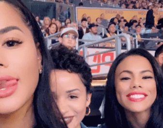 Kyle Kuzma's Girlfriend Katya Elise Henry Showed Up to Friday Night's Lakers Game in His Jersey