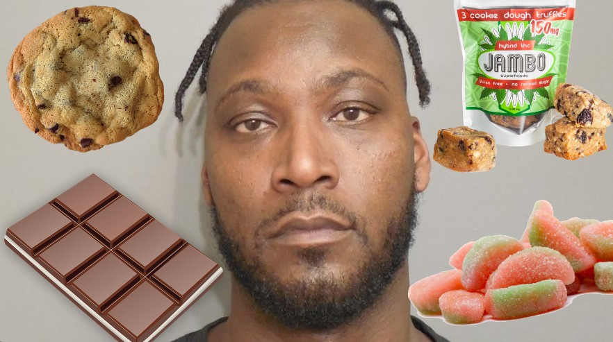 Former NBA # 1 Draft Pick Kwame Brown Charged With Felony Possession of Weed Edibles