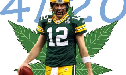 Aaron Rodgers Celebrated 4/20 In His Own Way