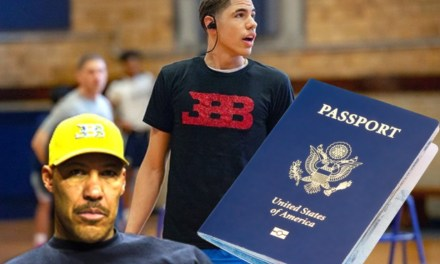 LaVar Ball Will Once Again Be Shipping LaMelo Ball Off Next Season