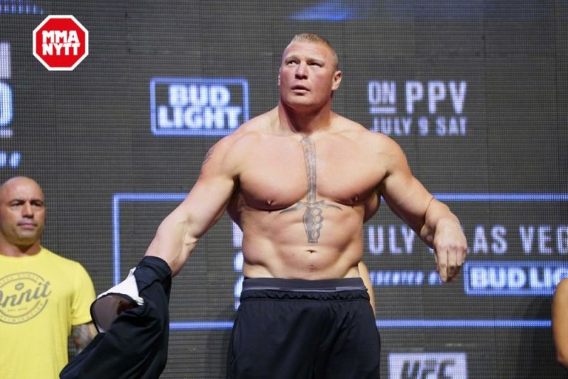 Brock Lesnar to Return to the UFC to Fight Daniel Cormier in August