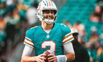 Josh Rosen Posted a Picture of Himself in a Dolphins Jersey to Celebrate Being Traded to Miami