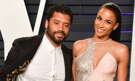 Russell Wilson and Ciara Celebrate $140 Million Contract