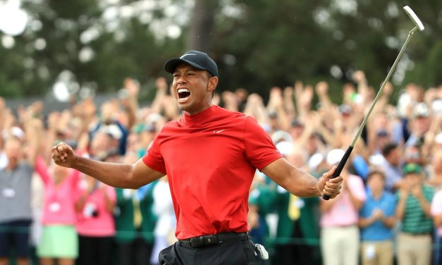 Bettor Walks Away with Over a Million After Tiger Woods Master Win