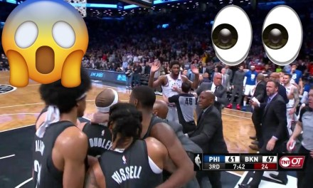 Watch Jimmy Butler, Jared Dudley Get Ejected After 76ers vs. Nets Brawl