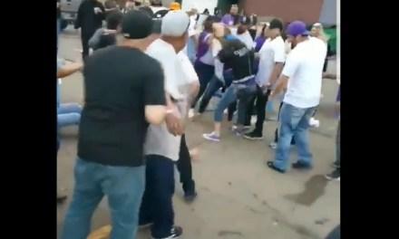 Watch Colorado Rockies Fans Fight In Parking Lot