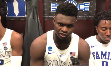 "Duke's Zion Williamson Says There's a ""High Chance"" He Enters the NBA Draft"