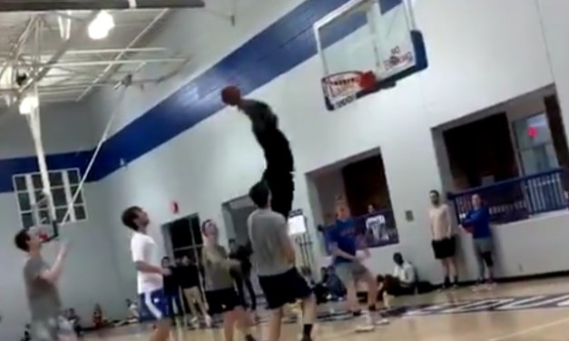 Video Surfaces of Zion Williamson Throwing Down a Monster Dunk in a Pickup Game