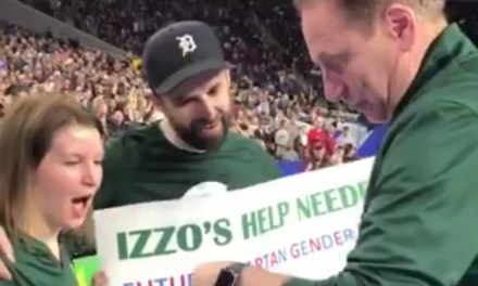 Tom Izzo Assists Michigan State Couple With Gender Reveal