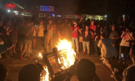 Texas Tech Fans Had Riot Police Called on Them after Win Over Michigan State