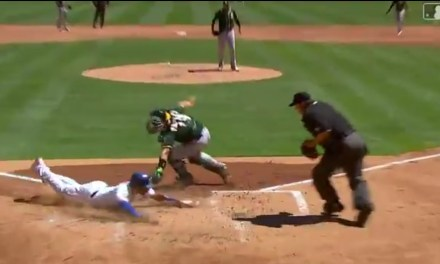 Elvis Andrus Stole Home on a Pickoff Attempt at First Base