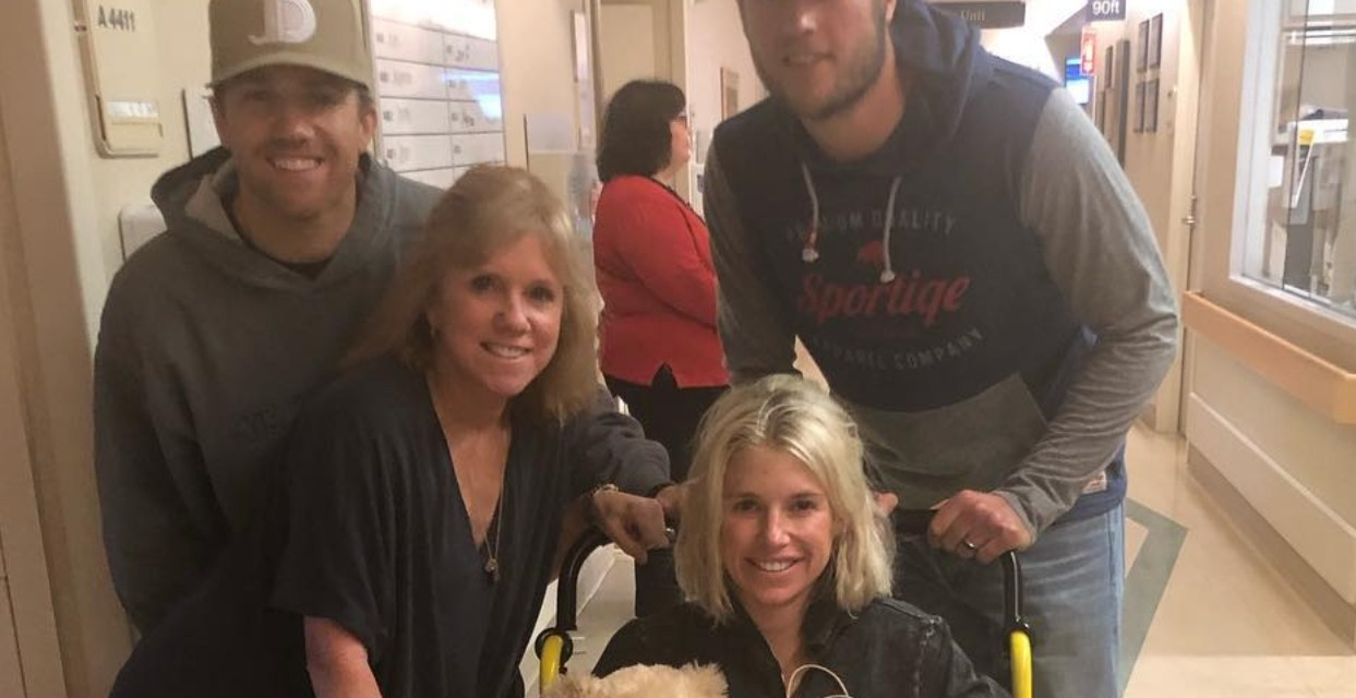 Matt Stafford's Wife Sent Out a Thank You Message from Home Following 12 Hour Brain Surgery