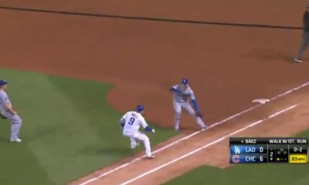 Javy Baez Juked David Freese Out of His Jock at First Base for an Infield Hit