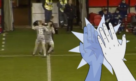 Swedish Player Requires Medical Treatment After Taking a High Five to the Eye