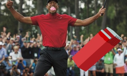 Tiger Woods Reveals Why he Chewed Gum During Masters Win