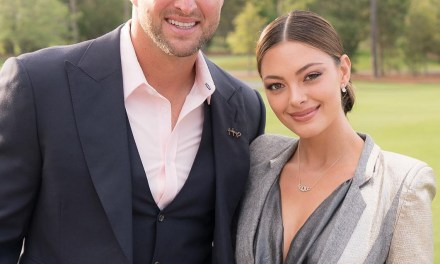 Demi-Leigh Nel-Peters Throws A Football Just Like Her Fiance