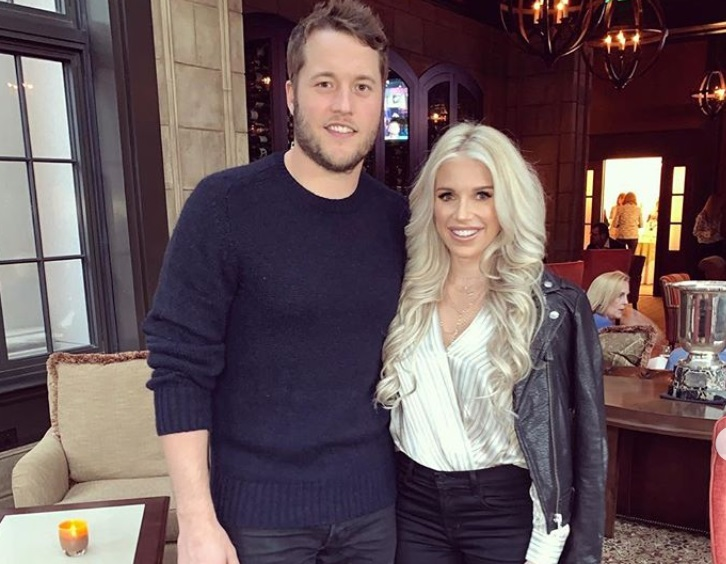 Matt Stafford's Wife Kelly Has a Brain Tumor That Will Require Surgery