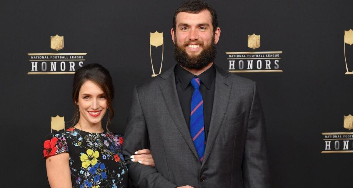 Andrew Luck Talks About His Marriage to Nicole Pechanec