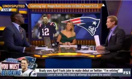 Shannon Sharpe Went HAM at Tom Brady Over His April Fools Day Prank