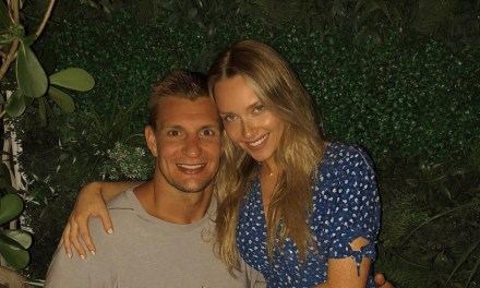 Rob Gronkowski and Camille Kostek Had a Nice Easter Weekend in the Bahamas