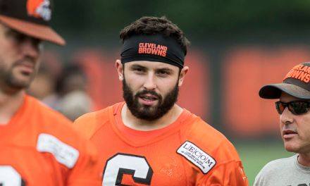 Baker Mayfield Fires Back at Colin Cowherd for Saying Odell Beckham Jr. is Unhappy in Cleveland