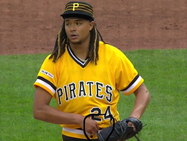 info for 9c2e0 786f6 Pittsburgh Pirates Pitcher Chris Archer Caught Using What ...