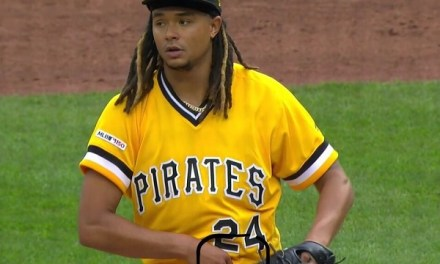 Pittsburgh Pirates Pitcher Chris Archer Caught Using What Looks Like Pine Tar