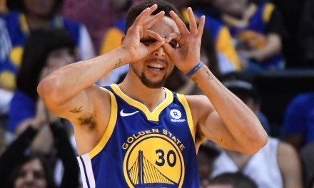 Steph Curry Just Added Contact Lenses to His Shot
