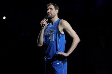 Dirk Nowitzki Announced His Retirement after His Final Home Game