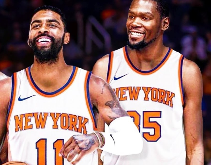low priced 8e6e9 d82b0 Reports Suggest Kevin Durant and Kyrie Irving to the Knicks ...