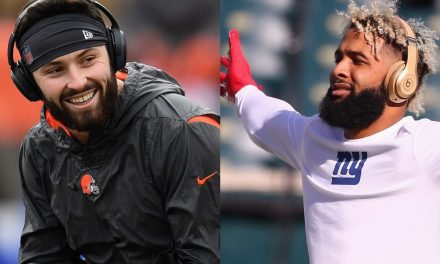 Von Miller Posts Pic of Him Sacking Baker Mayfield and Odell Beckham Jr. Wasn't Having It