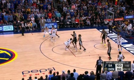 LaMarcus Aldridge Worked Through a Screen by Hitting Gary Harris in the Nuts