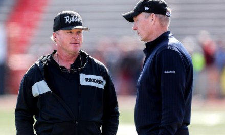 Oakland Raiders Scouts Sent Home Because Jon Gruden and Mike Mayock Don't Trust Them