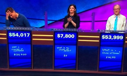 Professional Sports Gambler James Holzhauer Dodges 'Jeopardy!' Threat