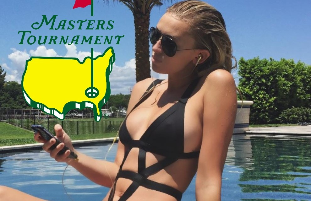 Paulina Gretzky Spotted at Augusta For the Masters