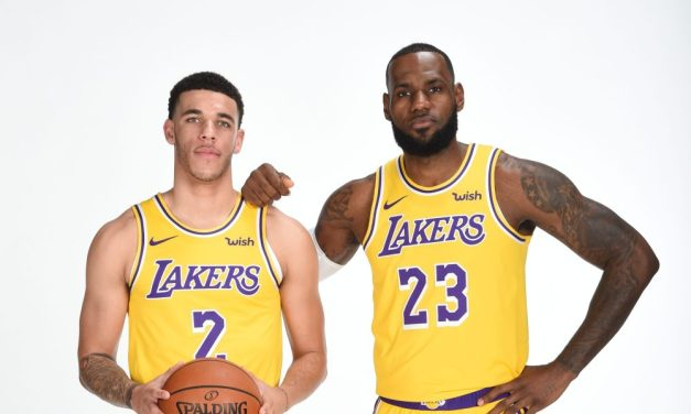 Lonzo Ball Throws His Hat Into the Ring for LeBron James
