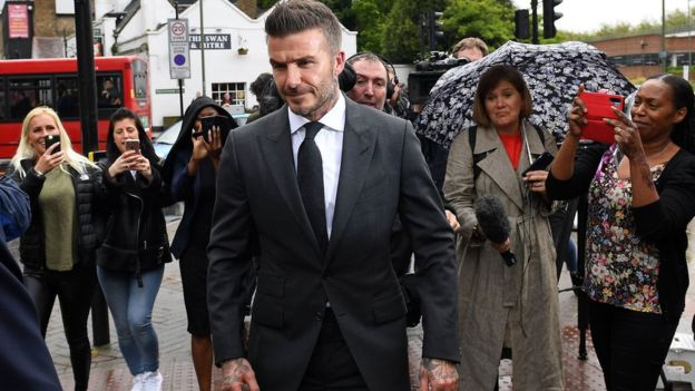 David Beckham Banned From Driving for 6 Months