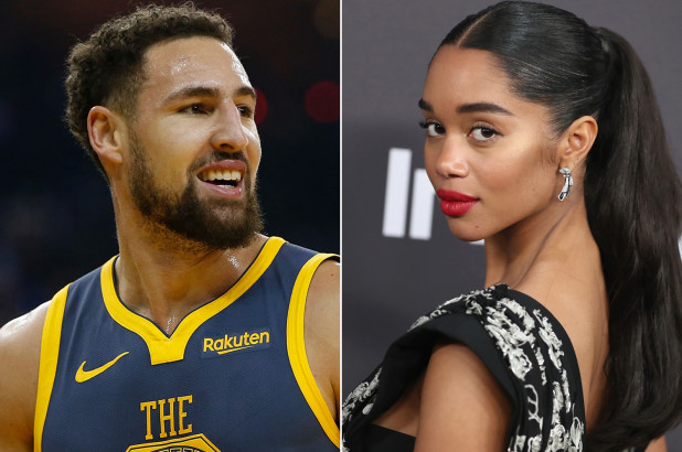 Laura Harrier Was Spotted at the Warriors Blazers Game 2